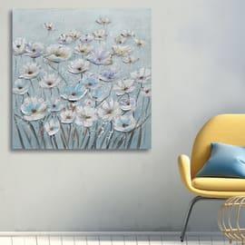 Dipinto originale Fiori 100x100 cm