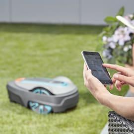Robot tagliaerba GARDENA Set smart Sileno life 1000 batteria litio (li-ion) 18 V