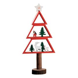 Albero di Natale in legno , L 17 cm  x P 7 cm