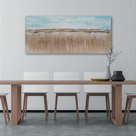 Dipinto originale Astrat 30x90 cm