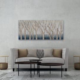 Dipinto originale Alberi 65x150 cm