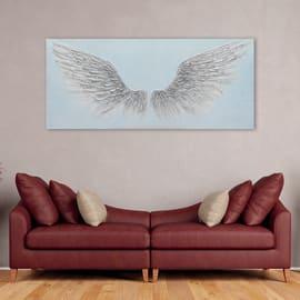 Dipinto originale Ali 65x150 cm