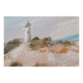 Dipinto originale Faro 30x30 cm
