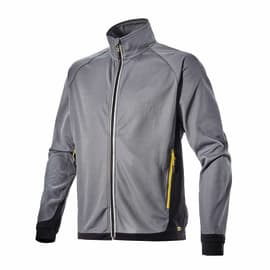 Felpa DIADORA Sweat FZ Trail Tg XL grigio