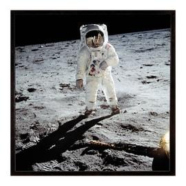 Stampa incorniciata Buzz moon 30.7x30.7 cm