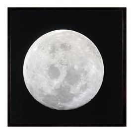 Stampa incorniciata Earth's moon 50.7x50.7 cm