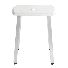 Sgabello Pgug27jds30w1 in abs bianco