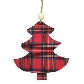 Figura natalizia marrone L 13 x H 14 cm