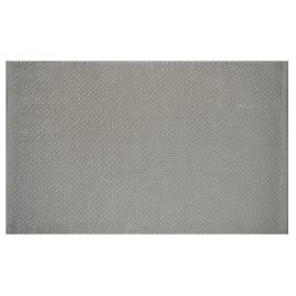 Tappeto bagno Bubble in 100% cotone beige 80 x 50 cm