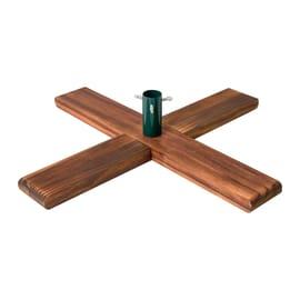 Base per albero di natale 54x54cm in legno
