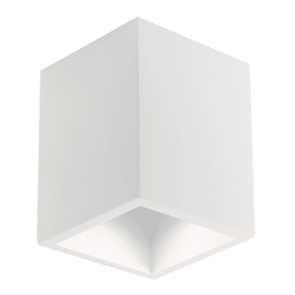 Plafoniera Foster bianco, in gesso, GU10 MAX35W IP20