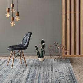 Tappeto Celestine grigio 160x230 cm