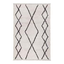Tappeto Tribe B bianco 160x230 cm