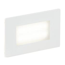 Faretto da incasso da esterno rettangolare BOLT-503 LED integrato in alluminio, grigio metallizzato, 3W 200LM IP65