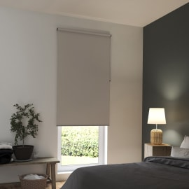 Tenda a rullo INSPIRE Tokyo oscurante beige 105x250 cm