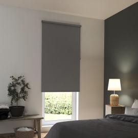 Tenda a rullo INSPIRE Tokyo oscurante grigio scuro 90x250 cm