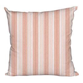 Fodera per cuscino Riga rosso rosso 60x60 cm