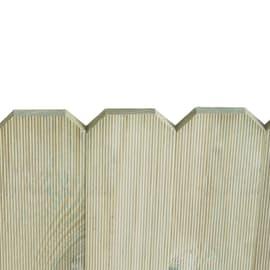 Bordo in legno L 120 x H 45 cm Sp 3.1 cm