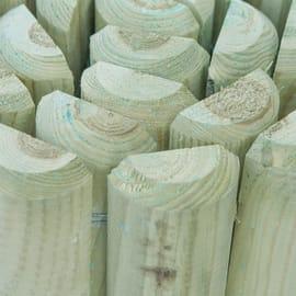 Bordura in rotolo in legno L 196 x H 30 cm Sp 3.5 cm