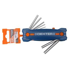 Set di chiave a brugola esagonale o allen (btr) DEXTER 7 pezzi