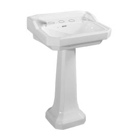 Lavabo Giunone L 58 x P 51 cm in ceramica bianco