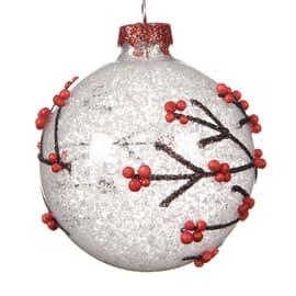 Sfera natalizia in vetro Ø 8 cm
