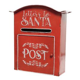 Cassetta della Posta Santa in metallo H 30.5 cm, L 27 cm  x P 10 cm