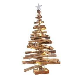 Albero di Natale a LED in legno , L 41 cm  x P 9 cm