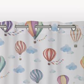 Tenda Montgolfier multicolor occhielli 140x290 cm