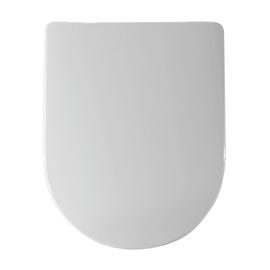 Copriwater rettangolare compatibile Esedra bianco