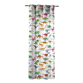 Tenda INSPIRE Dinosauri multicolore occhielli 140x270 cm