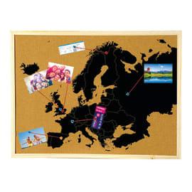 Bacheca Europa 6 ganci 900 x 600 mm x 2 cm