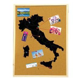 Bacheca Italia 6 ganci 900 x 600 mm x 2 cm