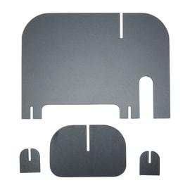 Lavagna 3d Elefante nero 15x25 cm