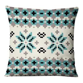 Fodera per cuscino Fantasia Fiocco Di Neve multicolore 45x45 cm