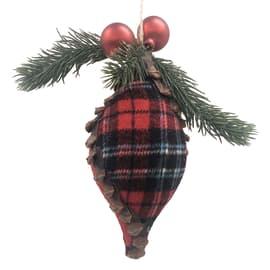 Figura natalizia multicolore L 8 x H 19 cm