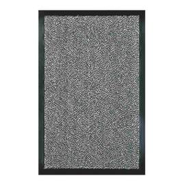 Zerbino Nevada in polipropilene antracite 90x60 cm