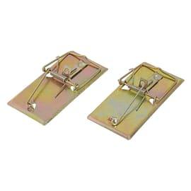 Trappola per topo e scarafaggi in metallo er topi blister 2 pz