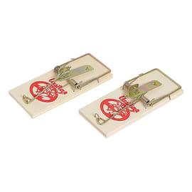 Trappola per scarafaggi e topo in legno per topi blister 2 pz