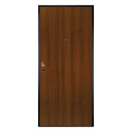 Porta blindata Safe noce L 90 x H 210 cm sinistra