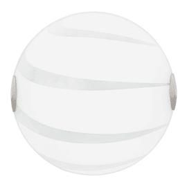 Plafoniera I-CRI-PL40 bianco, in vetro, 40x40 cm, diam. 40 cm, E27 3xMAX60W IP20