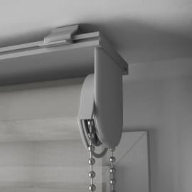 Tenda a rullo INSPIRE Quebec night/day grigio chiaro 90x250 cm