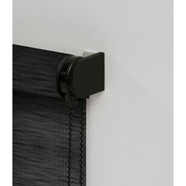 Tenda a rullo Glossy nero 90x250 cm