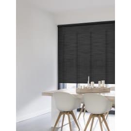Tenda a rullo Glossy nero 60x250 cm