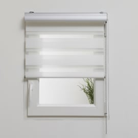 Tenda a rullo Box night/day bianco 90x250 cm