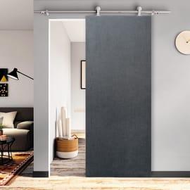 Porta scorrevole con binario esterno Infiniti in mdf laminato Kit Toledo L 92.5 x H 211.5 cm