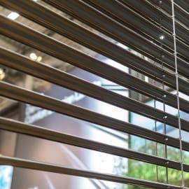 Veneziana New York in alluminio, antracite, 90x250 cm