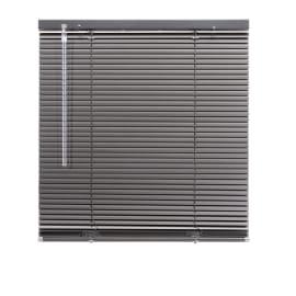 Veneziana New York in alluminio, antracite, 50x130 cm