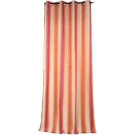Tenda Sienne arancio anelli 140x280 cm