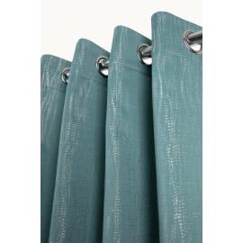 Tenda Alonzo blu anelli 135x280 cm